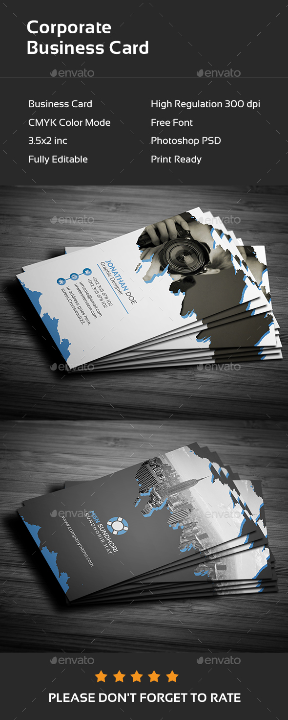 GraphicRiver Business Card 20991549