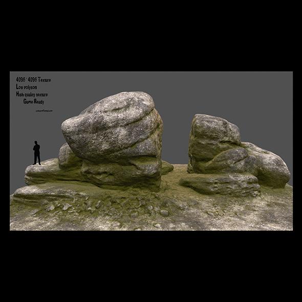 3DOcean mossy rocks 2 20991582