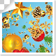 Golden Christmas Item Particles Transition – 7 Variations - VideoHive Item for Sale