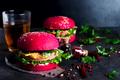 American grilled hamburger