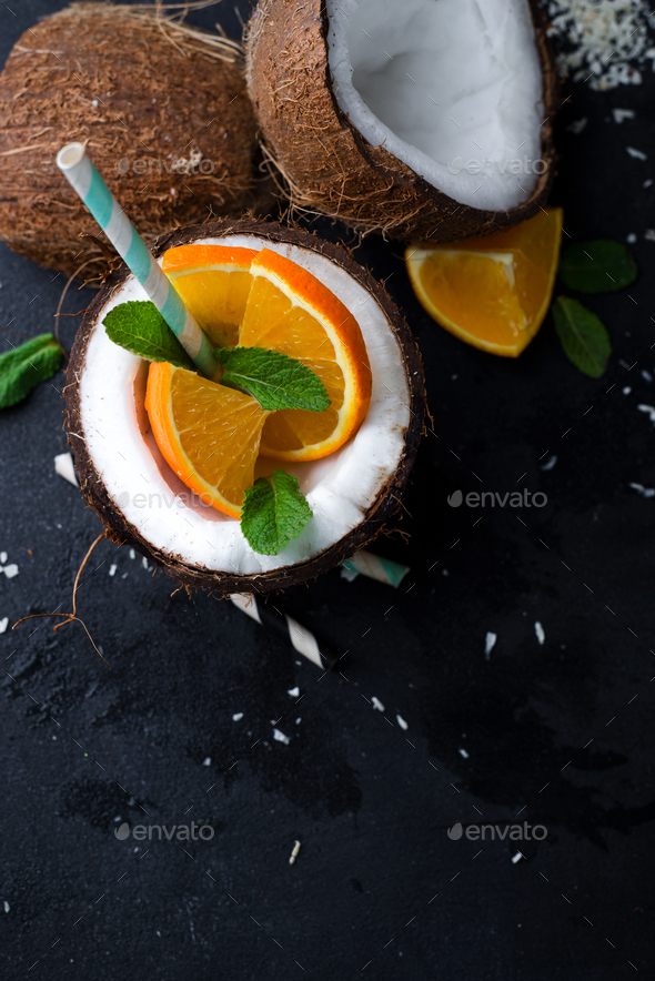 Pina colada drink - Stock Photo - Images