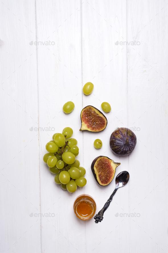 homemade jam making - Stock Photo - Images