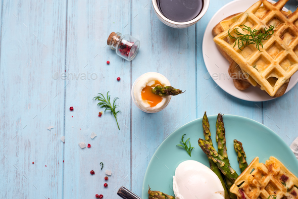 Healthy breakfast served - Stock Photo - Images
