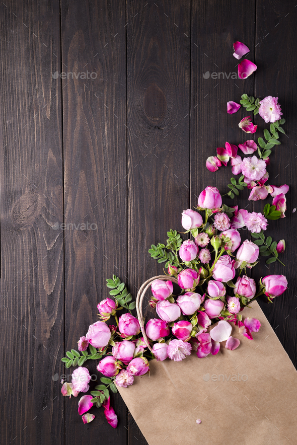 Bouquet of roses - Stock Photo - Images
