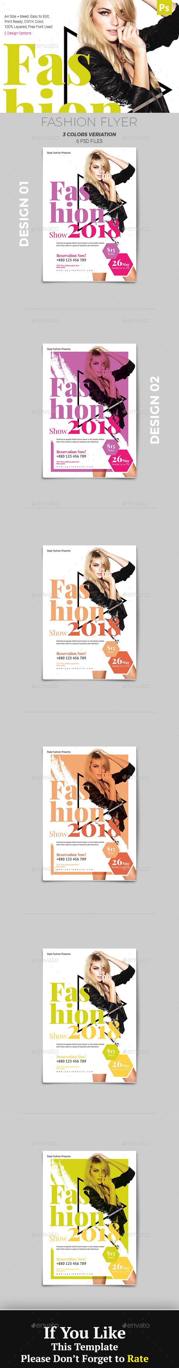 GraphicRiver Fashion Flyer 20991913