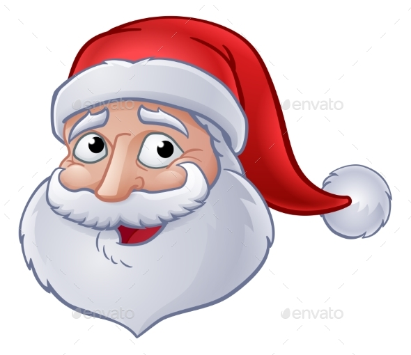 GraphicRiver Christmas Santa Claus Cartoon 20991943