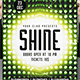 Shine Party Poster Template