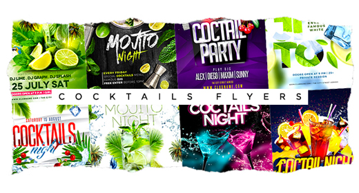 COCKTAILS FLYER