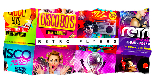 RETRO & DISCO FLYER