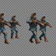 Armed Policemen On Patrol - VideoHive Item for Sale