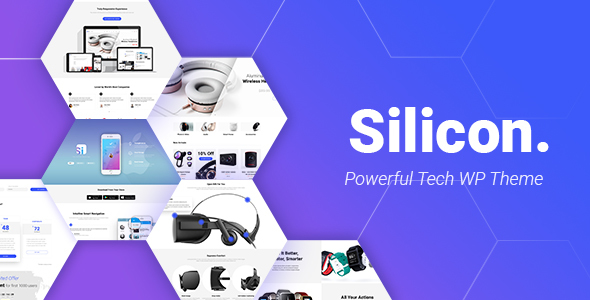 Image of Silicon - Startup and Technology WordPress Theme