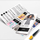 Winter Fashion Trifold Brochure