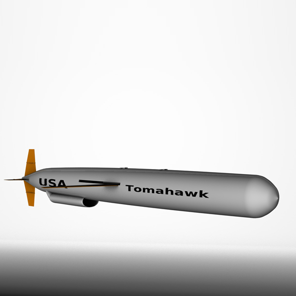 BGM-109 Tomahawk Cruise Missie - 3DOcean Item for Sale
