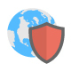 100 Flat Internet Security Icons - GraphicRiver Item for Sale