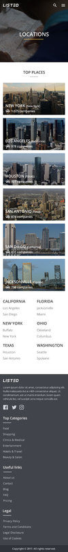 37 locations page mobile.  thumbnail