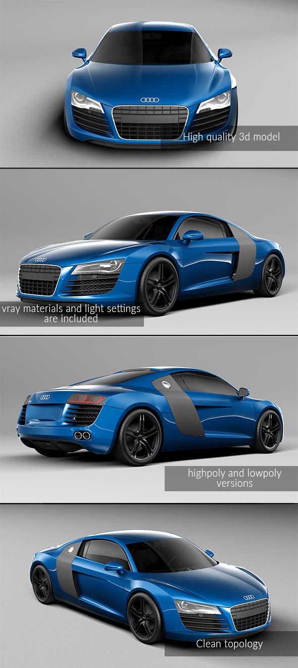 3DOcean Audi R8 20992345