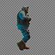 Walking Policeman In Uniform - VideoHive Item for Sale