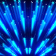 Sparkling Flickering Blue Rays - VideoHive Item for Sale