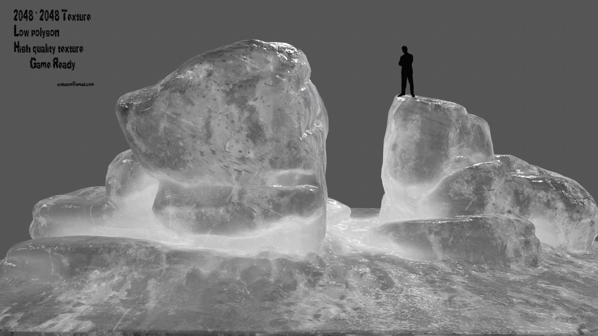 Ice Rock By Icekazim 3docean