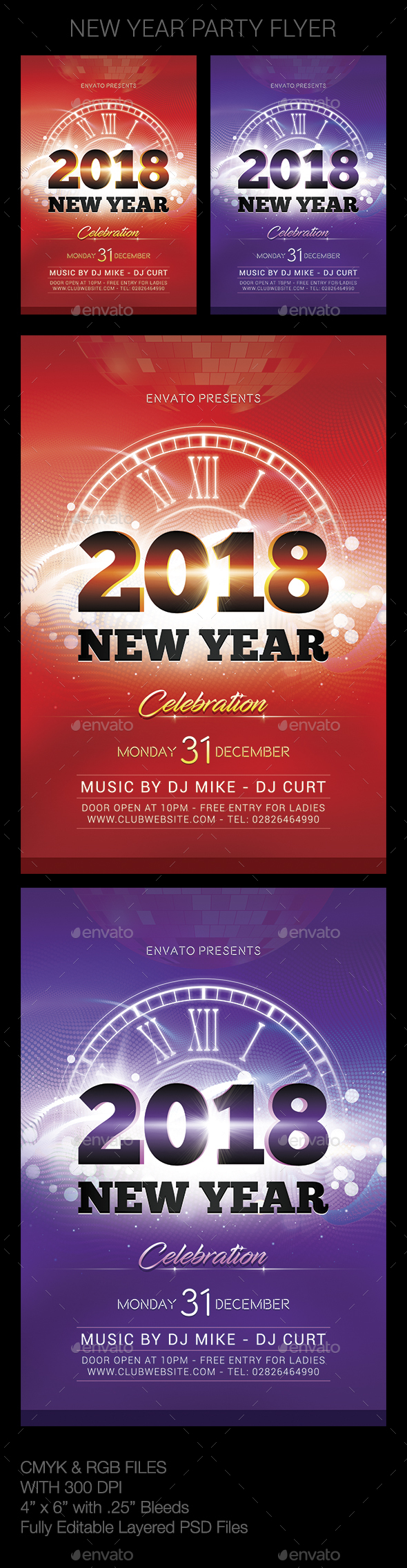 GraphicRiver New Year 20992469