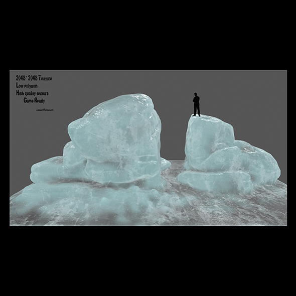 ice rock 2 - 3DOcean Item for Sale