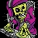 DJ Skull - GraphicRiver Item for Sale