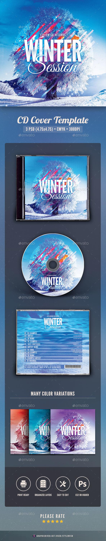 GraphicRiver Winter Session CD Cover Artwork 20992589