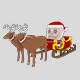 Santa Claus low poly pack - 3DOcean Item for Sale