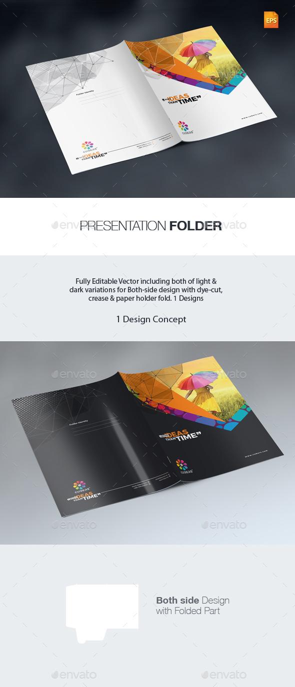 GraphicRiver Corporate Presentation Folder 20992696