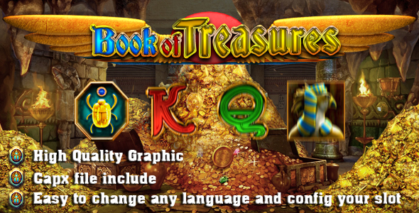 Book of Treasures - CodeCanyon Item for Sale