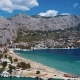 Flying Over Omis Town, Dalmatian Coast, Croatia - VideoHive Item for Sale