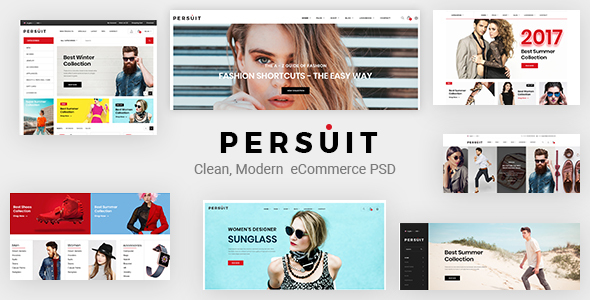ThemeForest Persuit Multipurpose Ecommerce Template 20857461