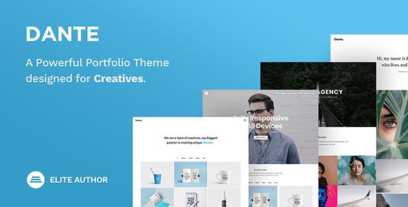 Dante – Creative Portfolio Theme            nulled