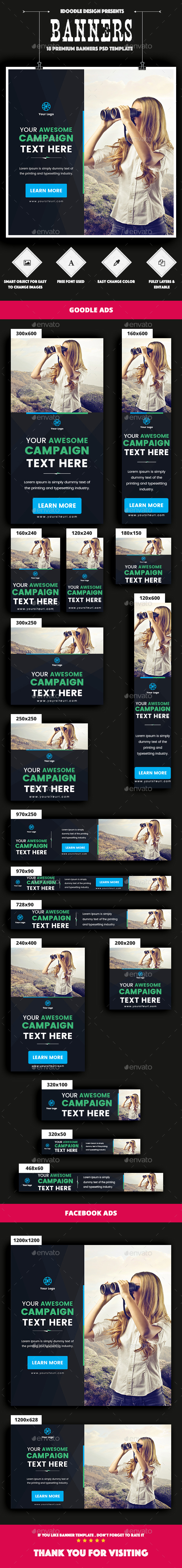 GraphicRiver Multipurpose Banners Ads 20992903