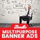 Multipurpose Banner Ad