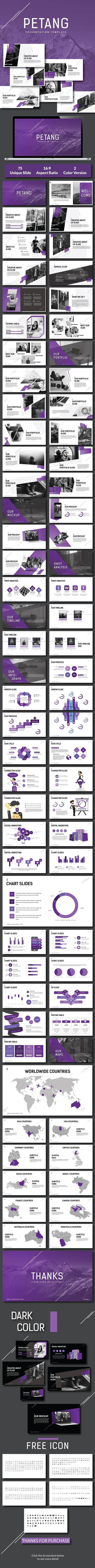 Petang - Creative Keynote Template - Keynote Templates Presentation Templates