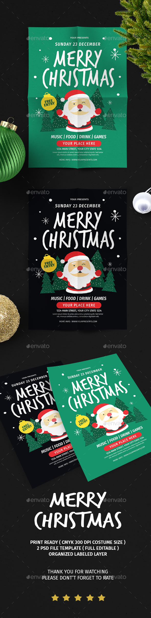 Christmas Flyer Vol.6 - Christmas Greeting Cards