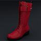 Long Women Shoes Boot 3d models