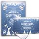 Christmas Flyer Postcard Templates