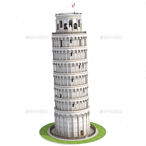 GraphicRiver Pisa Tower 20993537