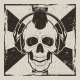 Skull Music Punk Vector Vintage Grunge Design