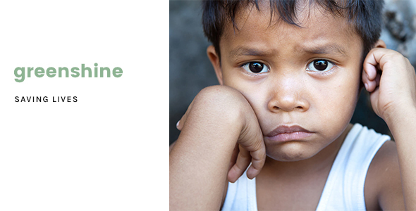 ThemeForest GreenShine Charity Non-Profit HTML Template 20899931