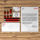 Stationery / Mock-Up in Red