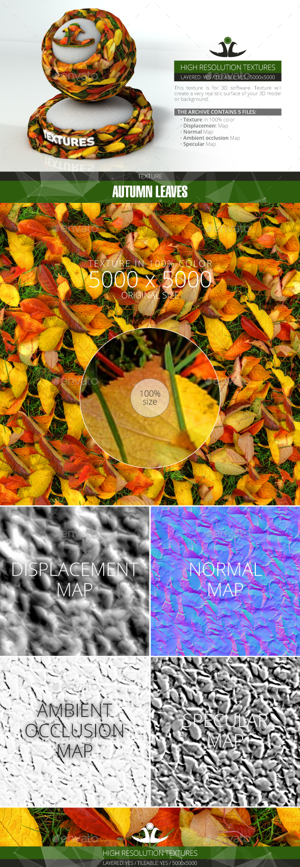 3DOcean Autumn Leaves 20994267