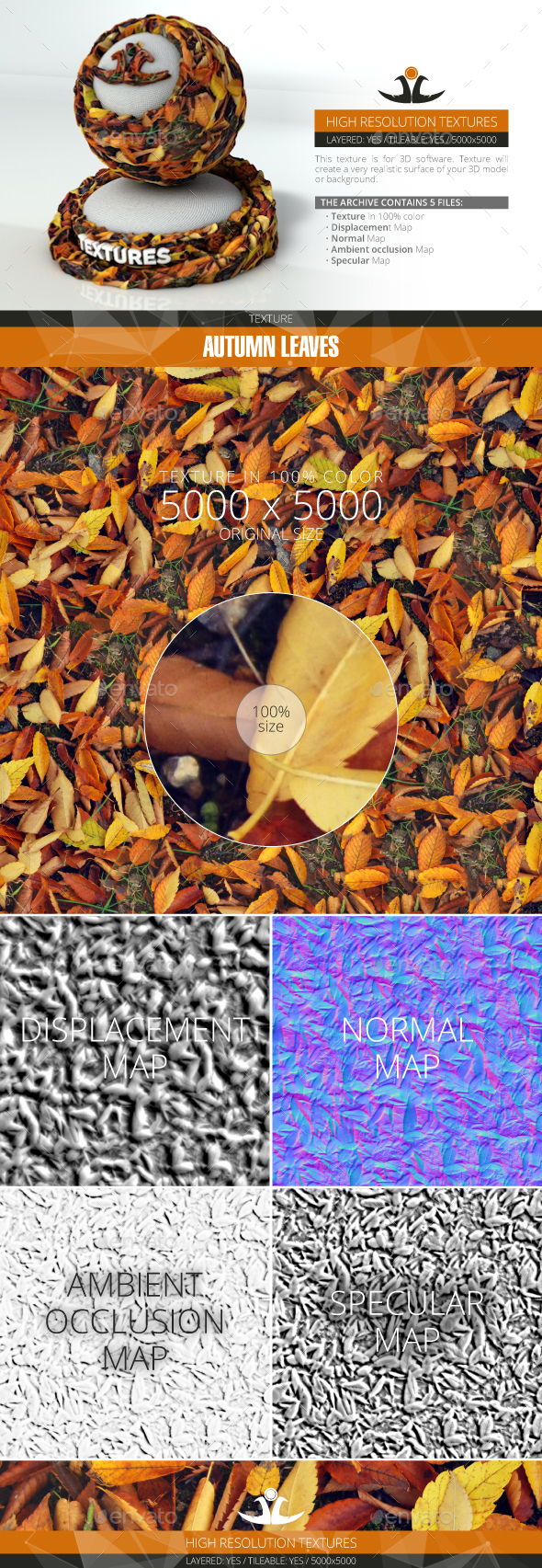 3DOcean Autumn Leaves 2 20994279