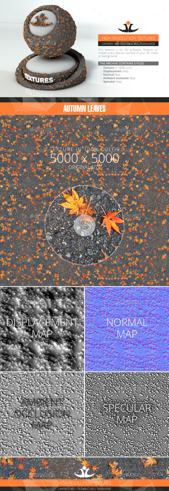3DOcean Autumn Leaves 4 20994298