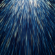 Falling Blue Stars Streaks Particles - VideoHive Item for Sale