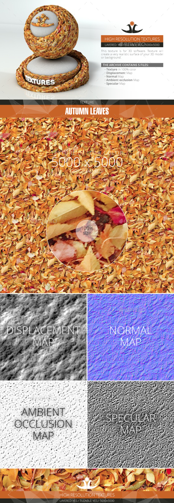 3DOcean Autumn Leaves 7 20994342