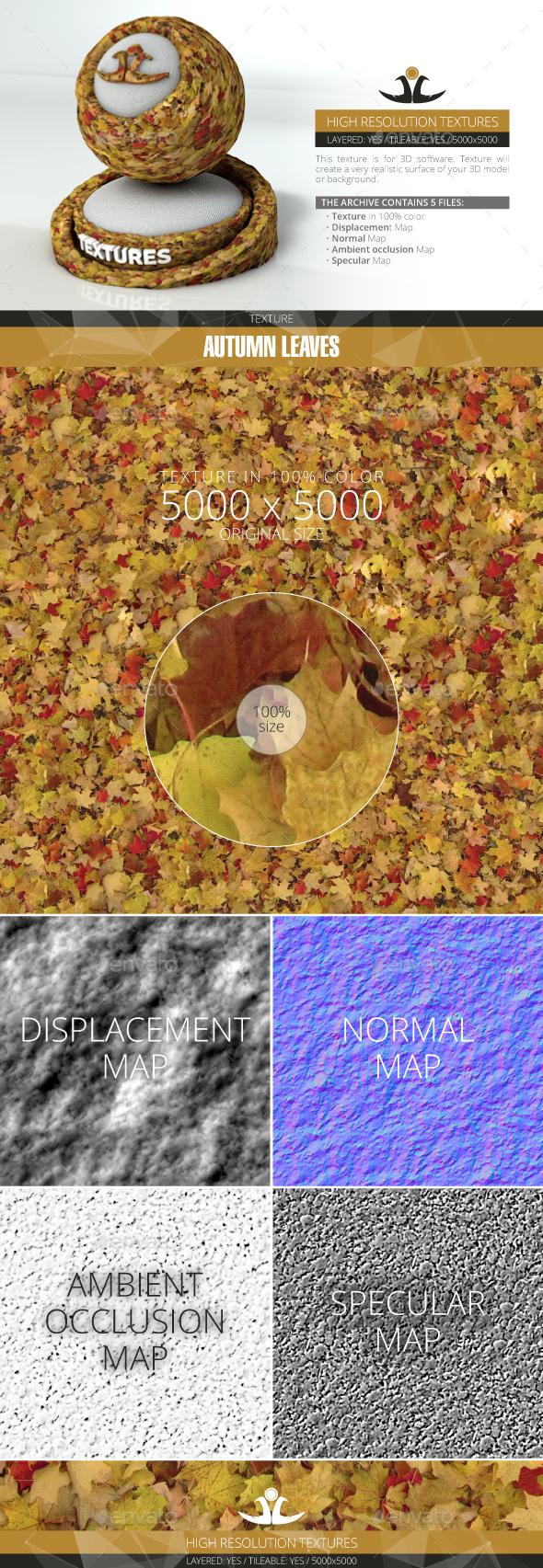 3DOcean Autumn Leaves 11 20994390