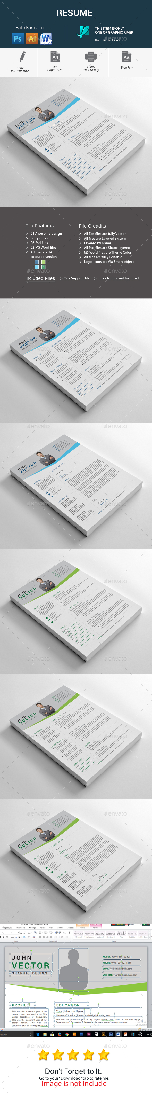 GraphicRiver Resume 20994601